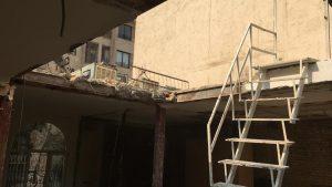 قیمت اجرای سازه و سقف شیشه ای مقاوم و نشکن