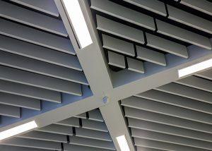 لوور آلومینیومی سقف