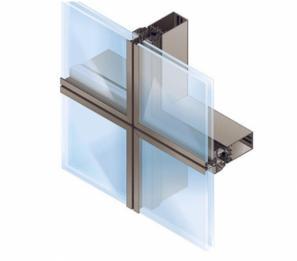 قیمت نمای شیشه ای فریم لس