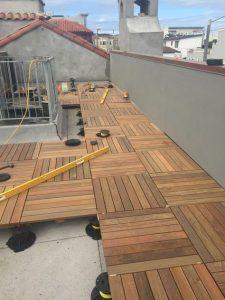 اجرای نمای چوبی ساختمان ویلایی